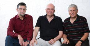 מימין לשמאל - גיל אמיד, יואב הולנדר, זיו בנימיני. חברת Foretellix. צילום: דרור סיתהכל