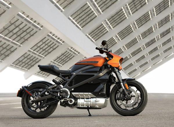 """האופנוע החשמלי של הארלי דוידסון. צילום: יח""""צ"""