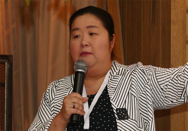 וואי ז'אנג, סגנית נשיא למוצר בטריפקטה. צילום: יעקב אברמוביץ'