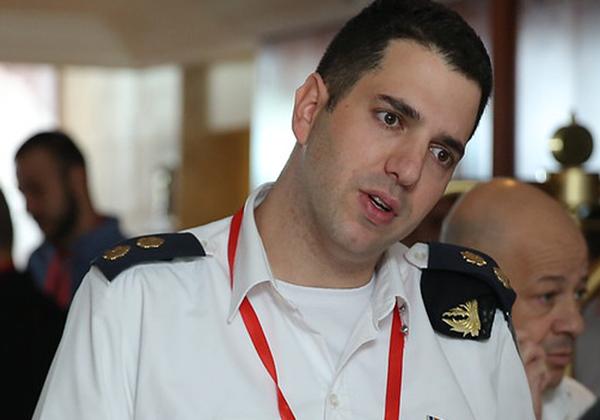 סגן אלוף שמעון לויאון, ראש ענף שילובים, מפת''ח בחיל הים. צילום: יש אווירה