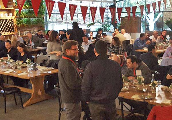 משתתפים במפגש פורום המכירות השנתי של טלדור. צילום: לימור רזניק