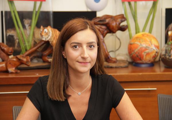 אלכסנדרה אלבו, מנהלת אזורי מרכז ומזרח אירופה ב-Bitdefender. צילום: יניב פאר