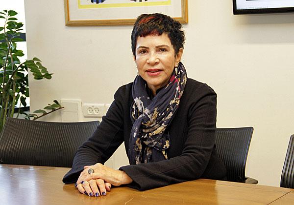 """דליה פלד, מנכ""""לית משותפת ובעלי קבוצת הכנסים והתקשורת אנשים ומחשבים. צילום: יניב פאר"""