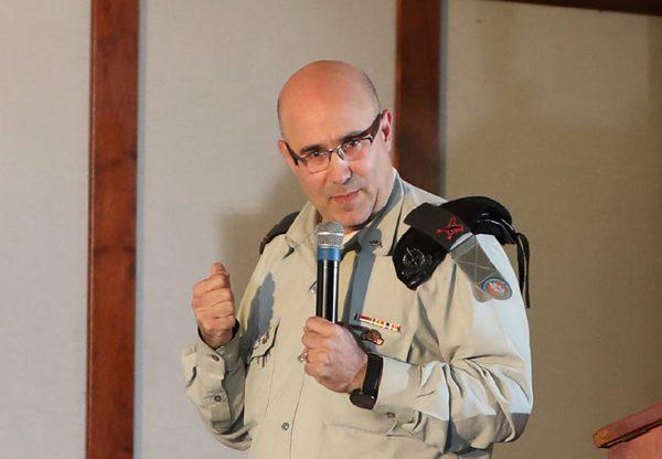 תת-אלוף זיו אבטליון, ראש מנהלת הטרנספורמציה הדיגיטלית באגף התקשוב בצה''ל. צילום: יש אווירה