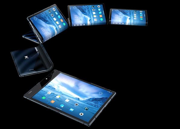 "Flexpai - הטלפון המתקפל הראשון. צילום: יח""צ"