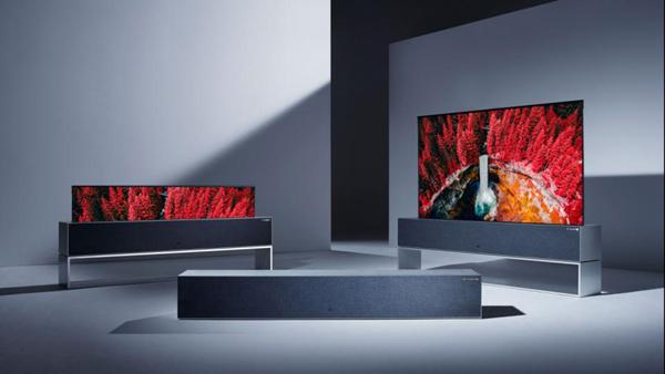 """טלוויזיה נגללת שך LG. צילום: יח""""צ"""