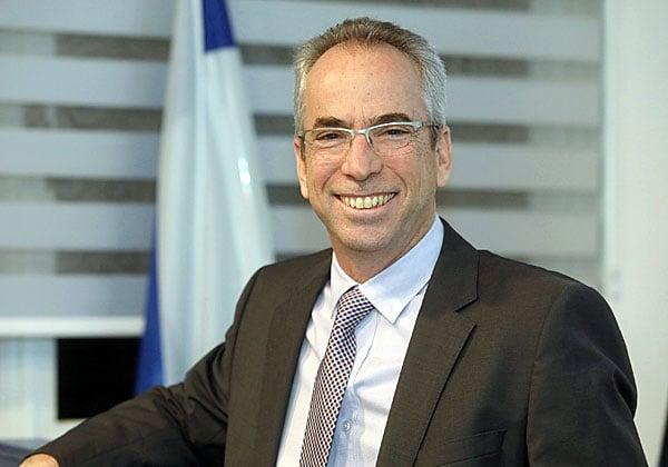 אבנר זיו, מנמ''ר בנק ישראל. צילום: ניב קנטור