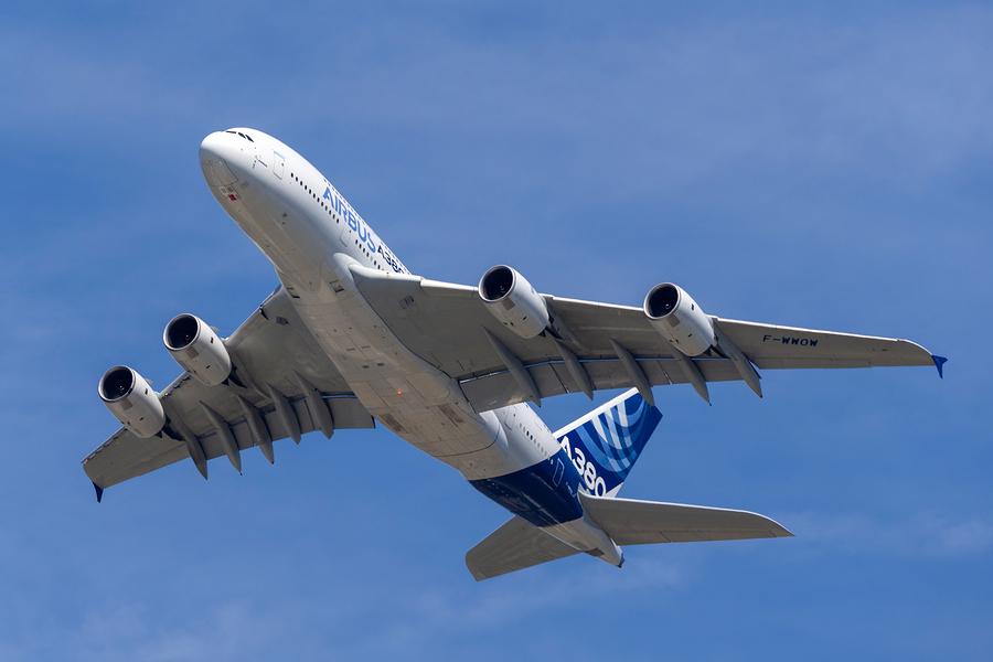 מטוס איירבוס A380. הגדול בעולם. צילום: BigStock