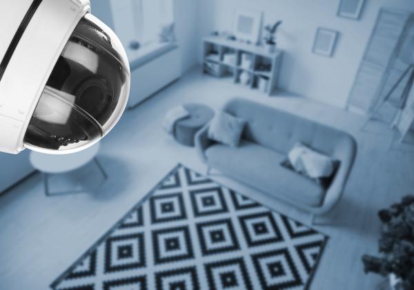 מצלמת אבטחה בסלון. אילוסטרציה: BigStock