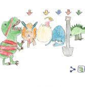 הזוכה בתחרות הדודלים של גוגל: ילדה בת שש