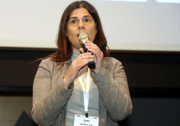 ליזי דלריצ'ה, ראשת מועצת גני תקווה. צילום: ניב קנטור