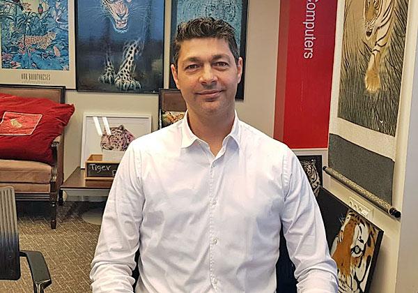 """עופר הכהן, מנכ""""ל מרכז החדשנות של AT&T בישראל. צילום: פלי הנמר"""
