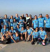 נבחרת טאף מאדר רצה 54 קומות במגדלי עזריאלי
