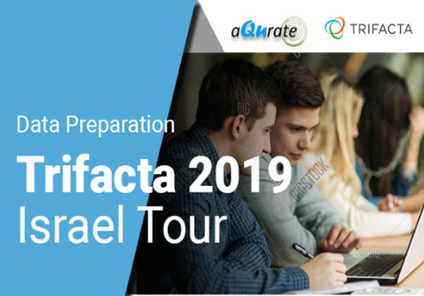 Trifacta - לראשונה בישראל