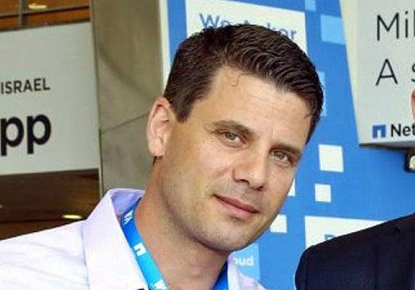 """ניר הולנדר, המנכ""""ל החדש של נוטניקס ישראל. צילום: יח""""צ"""