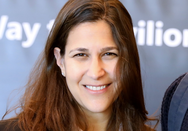 אורית גרינבאום-ליפסקי, מנהלת שיווק, מיקרוסופט ישראל. מנחת הפאנל. צילום: ניב קנטור