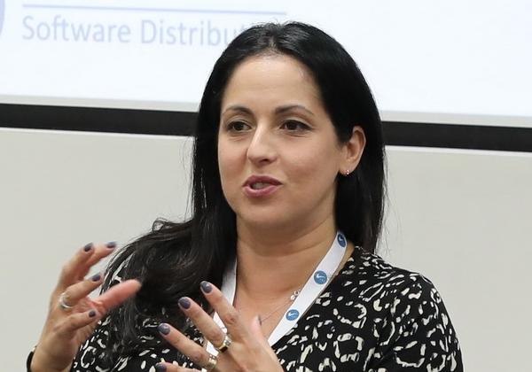 אביבית קוטלר, מנהלת הגנת סייבר והמשכיות עסקית בכלל ביטוח. צילום: עזרא לוי