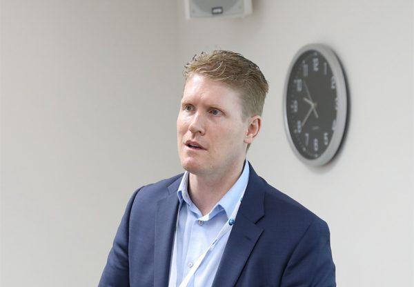 סטיבן בוייר, מייסד ומנהל הטכנולוגיות הראשי של BitSight. צילום: עזרא לוי