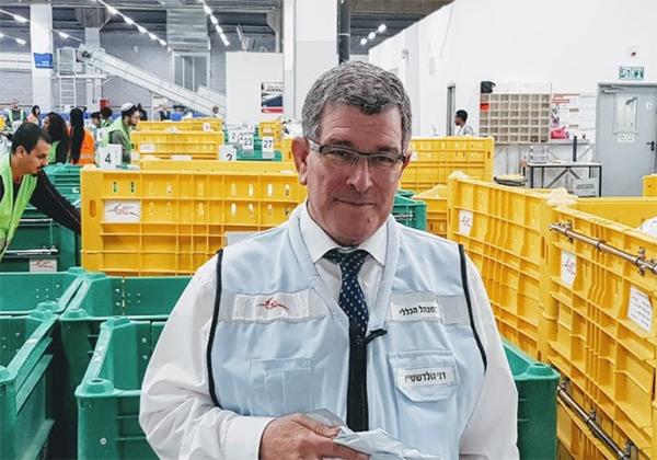 דני גולדשטיין, מנכ''ל דואר ישראל.צילום: פלי הנמר