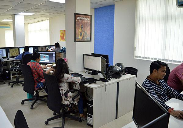 """מרכז הפיתוח של TeamScale בהודו. צילום: יח""""צ"""