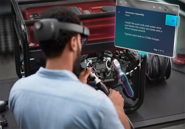 """HoloLens 2. צילום: יח""""צ"""