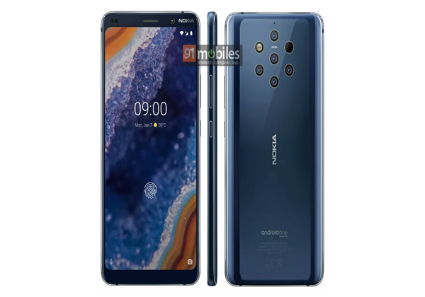 """Nokia 9 PureView. צילום: יח""""צ"""