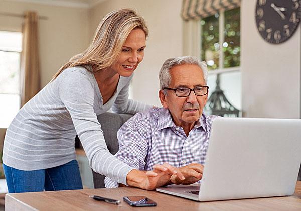 הטכנולוגיה למען האזרחים הוותיקים והקשר הבין דורי. צילום אילוסטרציה: BigStock