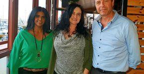 הצוות המוביל של חטיבת NetSuite ב-One1. מימין: רומן מיטשל, מנהל חטיבת NetSuite ואורקל ב-One1; אילנה פולינסקי, ראשת תחום לוגיסטי ומנהלת פרויקטים בכירה; ויפית מאיר, מנהלת תחום NetSuite. צילום: בת חן עשור