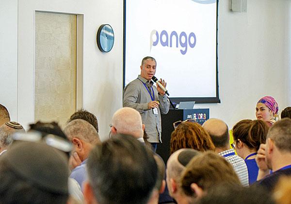 """יניב קאלו, סמנכ""""ל הטכנולוגיות של פאנגו. צילום: עומר הכהן"""