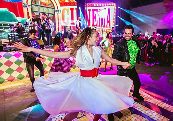 רחבת הריקודים זה לא מסרט אחר עם ג'ון טרבולטה? צילום: מנש כהן