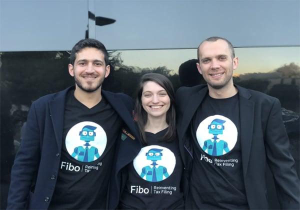 """מייסדי פיבו, רועי קמחי, דנה מיולגאי ואיתמר אפלבלט. צילום: יח""""צ"""