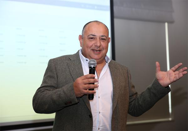 יוסי רודריק, מנכ''ל אקורייט מקבוצת UCL. צילום: בר לוי -