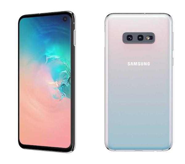 """טלפון חכם Samsung Galaxy S10e. צילום: יח""""צ"""