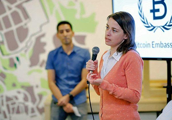 נעה משיח, מנהלת תפעול באיגוד הביטקוין הישראלי. צילום: ריקי רחמן