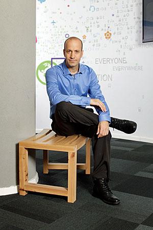 """אריק טל, מנכ""""ל נוקיה ישראל. צילום: אייל טואג"""