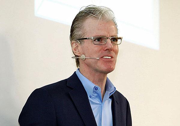 פול מייזנר, סגן נשיא למדיניות חדשנות גלובלית ותקשורת באמזון. צילום: ניב קנטור