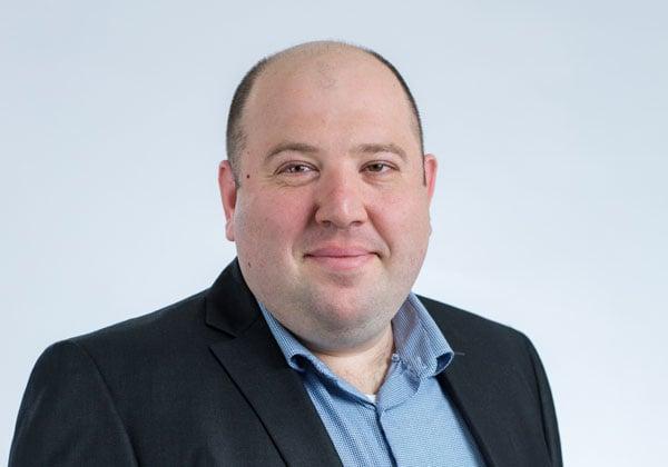 יולי יאביץ, מהנדס מכירות בכיר ב-A10 Networks. צילום: אלישר