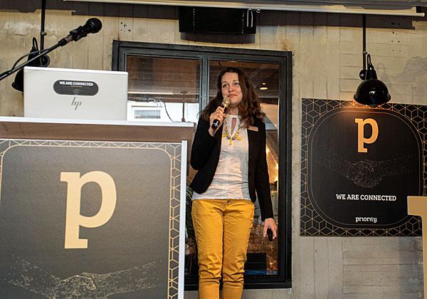 לינה ביצ'אצ'י, מנהלת מוצר בפריוריטי. צילום: איריס פירס
