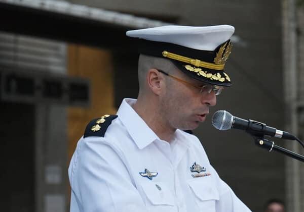 """אלוף משנה אריק קליימן, מפקד מנהלת 2020 היוצא. צילום: דובר צה""""ל"""
