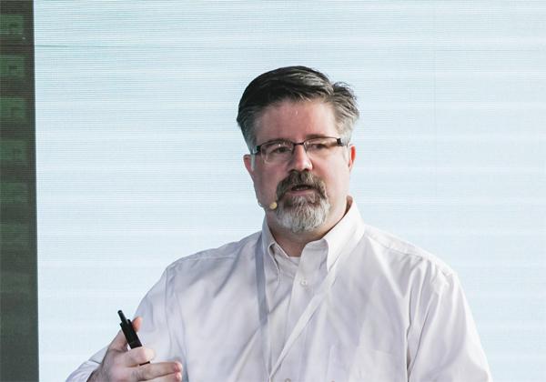 בריאן סטיקס, מנהל טכני בחטיבת משרד מנהל הטכנולוגיות הראשי ב-Google Cloud. צילום: תומר פולטין