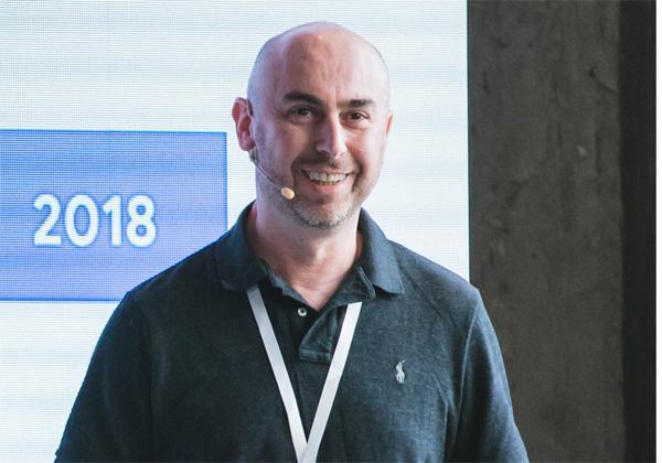 ישראל גופמן, מהנדס לקוחות, Google. צילום: תומר פולטין