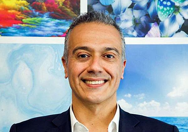 """ניק לאזארידיס, נשיא HP לאזור EMEA. צילום: יח""""צ"""