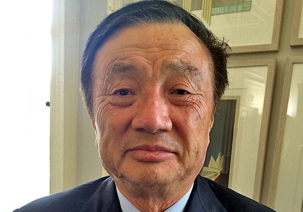 רן ז'נג-פאי, נשיא ומייסד וואווי. צילום: Cellanr, מתוך ויקיפדיה
