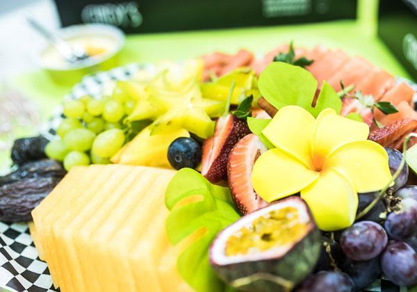 מיטב פירות העונה בחגיגה של אלפא-ביו טכ. צילום: אור ליפמן