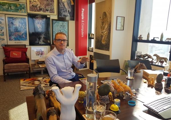 """פול הופ, סמנכ""""ל בכיר לשיווק ולהובלת שוק ברימיני סטריט לאזור EMEA. צילום: פלי הנמר"""