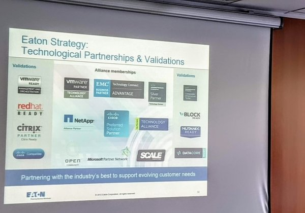 """שת""""פ של איטון עם יצרני התוכנה המובילים בעולם מבטיח תמיכה טובה יותר בלקוחות שלה. צילום: פלי הנמר"""