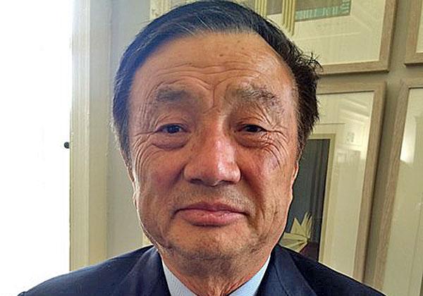 """מייסד ומנכ""""ל וואווי, רן זנגפי. צילום: Cellanr, מתוך ויקיפדיה"""