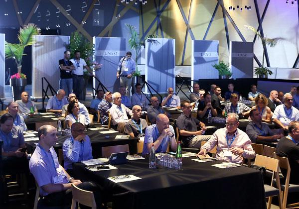 המשתתפים במפגש השקת פורום C6 - מבכירי מנהלי התשתיות, החדשנות והטכנולוגיה בישראל. צילום: ניב קנטור