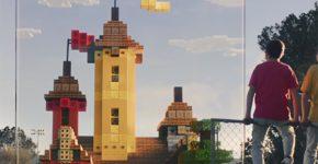 Minecraft Earth.. צילום מסך מתוך יוטיוב
