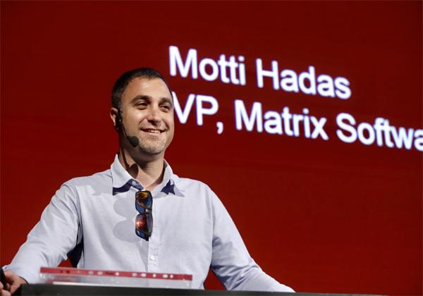 מוטי הדס, סגן מנהל חטיבת מוצרי התוכנה במטריקס. צילום: ניב קנטור